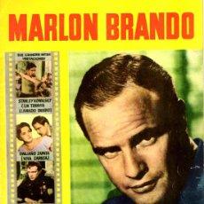 Cine: MARLON BRANDO. COLEC. CINECOLOR Nº 13 (SU VIDA). Lote 22877002
