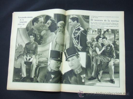 Cine: POPULAR FILM - AÑO VI - Nº 262 - 20 AGOSTO 1931 - PORTADA, ROSITA DIAZ - - Foto 3 - 22952956