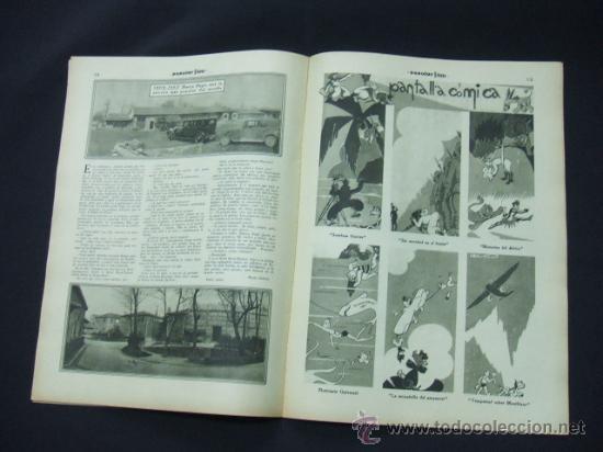 Cine: POPULAR FILM - AÑO VI - Nº 262 - 20 AGOSTO 1931 - PORTADA, ROSITA DIAZ - - Foto 4 - 22952956