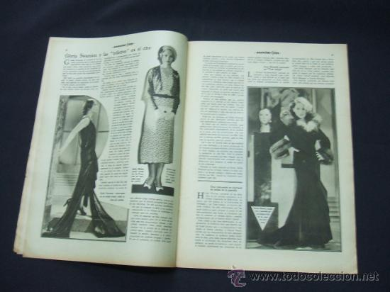 Cine: POPULAR FILM - AÑO VI - Nº 259 - 30 JULIO 1931 - PORTADA, CONCHITA MONTENEGRO - - Foto 5 - 22953075