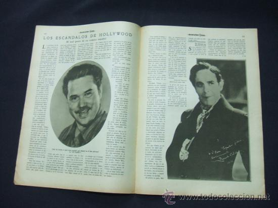 Cine: POPULAR FILM - AÑO VI - Nº 259 - 30 JULIO 1931 - PORTADA, CONCHITA MONTENEGRO - - Foto 6 - 22953075