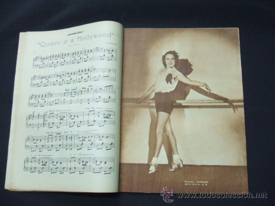 Cine: POPULAR FILM - AÑO VI - Nº 276 - 26 NOVIEMBRE 1931 - PORTADA, LORETTA YOUNG Y OTIS SKINER - - Foto 3 - 22953088