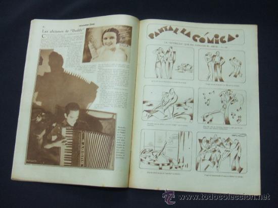 Cine: POPULAR FILM - AÑO VI - Nº 276 - 26 NOVIEMBRE 1931 - PORTADA, LORETTA YOUNG Y OTIS SKINER - - Foto 4 - 22953088