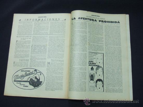 Cine: POPULAR FILM - AÑO VI - Nº 276 - 26 NOVIEMBRE 1931 - PORTADA, LORETTA YOUNG Y OTIS SKINER - - Foto 6 - 22953088