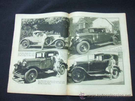 Cine: POPULAR FILM - AÑO VI - Nº 261 - 13 AGOSTO 1931 - PORTADA, LUCILE BROWNE - - Foto 3 - 22953108