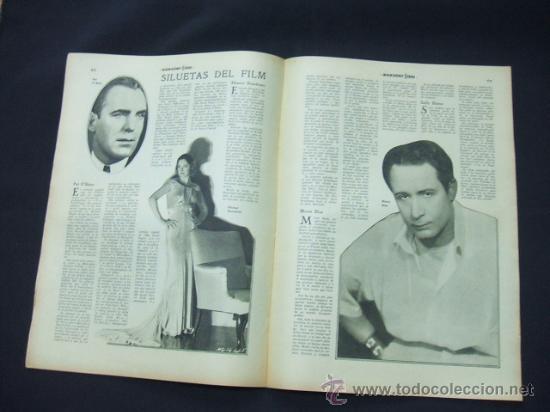 Cine: POPULAR FILM - AÑO VI - Nº 261 - 13 AGOSTO 1931 - PORTADA, LUCILE BROWNE - - Foto 4 - 22953108