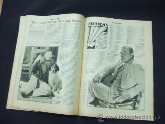 Cine: POPULAR FILM - AÑO VI - Nº 261 - 13 AGOSTO 1931 - PORTADA, LUCILE BROWNE - - Foto 5 - 22953108