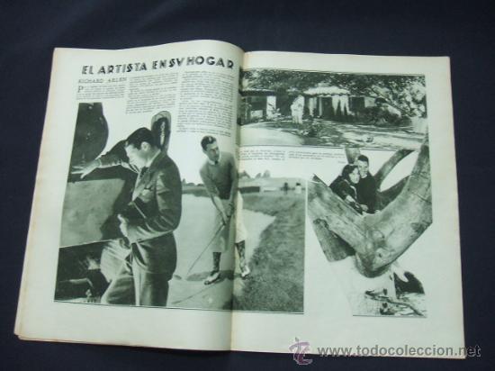Cine: POPULAR FILM - AÑO V - Nº 224 - 13 NOVIEMBRE 1930 - PORTADA, JANET GAYNOR Y CHARLES FARRELL - - Foto 4 - 22953167