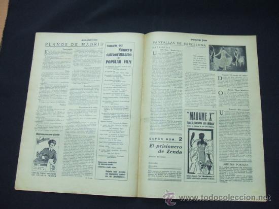Cine: POPULAR FILM - AÑO V - Nº 224 - 13 NOVIEMBRE 1930 - PORTADA, JANET GAYNOR Y CHARLES FARRELL - - Foto 7 - 22953167