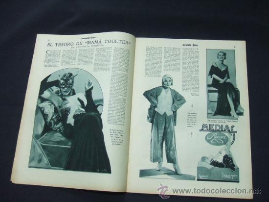Cine: POPULAR FILM - AÑO VI - Nº 246 - 30 ABRIL 1931 - PORTADA, ANITA PAGE - - Foto 4 - 22953212