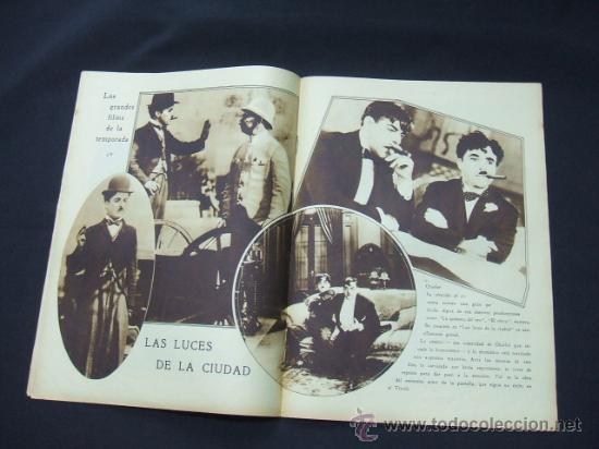 Cine: POPULAR FILM - AÑO VI - Nº 246 - 30 ABRIL 1931 - PORTADA, ANITA PAGE - - Foto 5 - 22953212