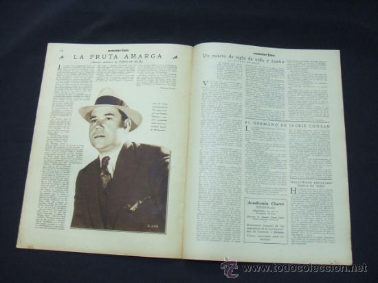 Cine: POPULAR FILM - AÑO VI - Nº 246 - 30 ABRIL 1931 - PORTADA, ANITA PAGE - - Foto 6 - 22953212