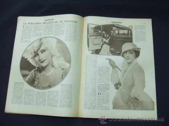 Cine: POPULAR FILM - AÑO VI - NUMERO 281 - 31 DICIEMBRE 1931 - PORTADA, BARRY NORTON Y LUANA ALCAÑIZ - Foto 5 - 22953269