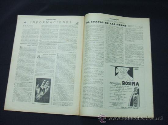 Cine: POPULAR FILM - AÑO VI - NUMERO 281 - 31 DICIEMBRE 1931 - PORTADA, BARRY NORTON Y LUANA ALCAÑIZ - Foto 6 - 22953269