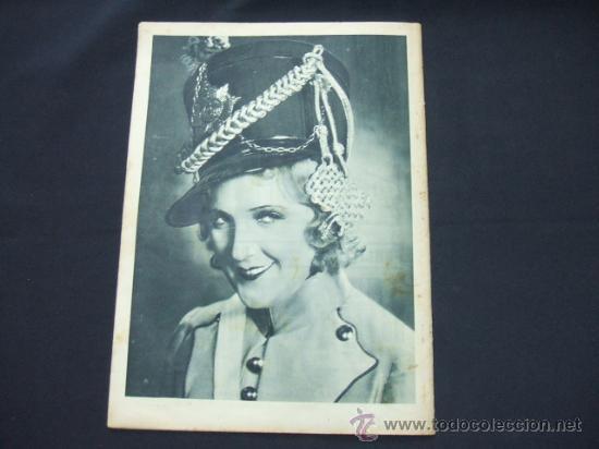Cine: POPULAR FILM - AÑO VI - NUMERO 281 - 31 DICIEMBRE 1931 - PORTADA, BARRY NORTON Y LUANA ALCAÑIZ - Foto 7 - 22953269