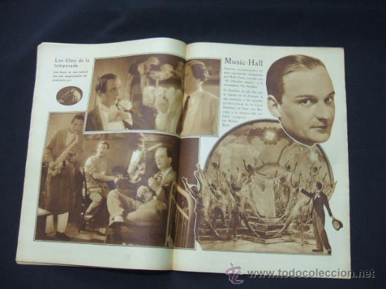 Cine: POPULAR FILM - AÑO VI - NUMERO 277 - 3 DICIEMBRE 1931 - PORTADA, JOSE MOJICA - - Foto 5 - 22953305