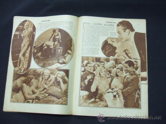Cine: POPULAR FILM - AÑO VI - NUMERO 277 - 3 DICIEMBRE 1931 - PORTADA, JOSE MOJICA - - Foto 6 - 22953305