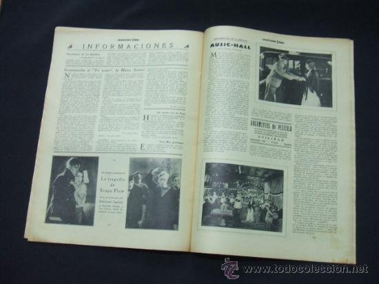 Cine: POPULAR FILM - AÑO VI - NUMERO 277 - 3 DICIEMBRE 1931 - PORTADA, JOSE MOJICA - - Foto 7 - 22953305