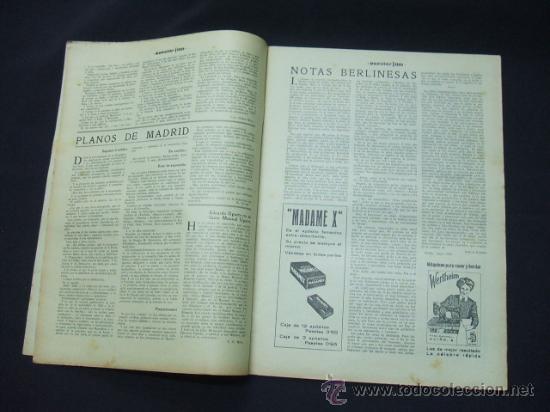 Cine: POPULAR FILM - AÑO VI - NUMERO 249 - 21 MAYO 1931 - PORTADA, BEBE DANIELS Y BEN LYON - - Foto 3 - 22953334