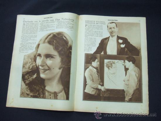 Cine: POPULAR FILM - AÑO VI - NUMERO 249 - 21 MAYO 1931 - PORTADA, BEBE DANIELS Y BEN LYON - - Foto 6 - 22953334