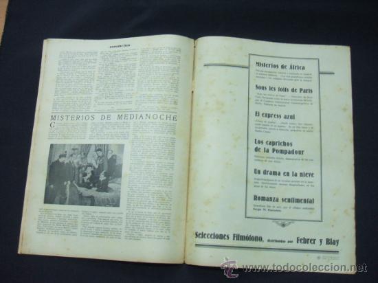 Cine: POPULAR FILM - AÑO VI - NUMERO 249 - 21 MAYO 1931 - PORTADA, BEBE DANIELS Y BEN LYON - - Foto 9 - 22953334