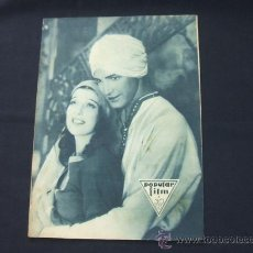 Cine: POPULAR FILM - AÑO VI - Nº 276 - 26 NOVIEMBRE 1931 - PORTADA, LORETTA YOUNG Y OTIS SKINER - . Lote 22953088