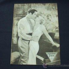 Cine: POPULAR FILM - AÑO V - Nº 223 - 6 NOVIEMBRE 1930 - PORTADA, JOHN BOLES Y EVELYN LAGE - . Lote 22953157