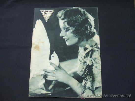 POPULAR FILM - AÑO VI - Nº 246 - 30 ABRIL 1931 - PORTADA, ANITA PAGE - (Cine - Revistas - Popular film)