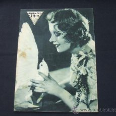 Cine: POPULAR FILM - AÑO VI - Nº 246 - 30 ABRIL 1931 - PORTADA, ANITA PAGE - . Lote 22953212