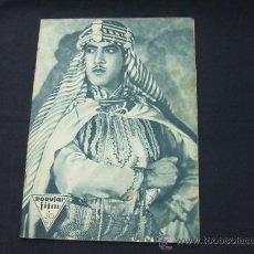 Cine: POPULAR FILM - AÑO VI - NUMERO 277 - 3 DICIEMBRE 1931 - PORTADA, JOSE MOJICA - . Lote 22953305