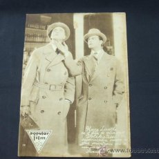 Cine: POPULAR FILM - AÑO V - NUMERO 219 - 9 OCTUBRE 1930 - PORTADA, HARRY LIEDTKE - . Lote 22953707