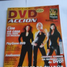 Cine: REVISTA DVD ACCION, LOTE DE 60 UNIDADES. DESDE EL NÚMERO 1 AL 81. Lote 25590093