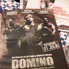 Cine: 'DOMINO', CON KEIRA KNIGHTLEY. PÁGINA DE PRENSA. TAMAÑO A-3.. Lote 22983499