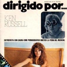 Cine: DIRIGIDO POR... Nº 31 KEN RUSSELL. Lote 22999299