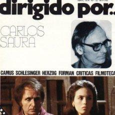 Cine: DIRIGIDO POR... Nº 32 CARLOS SAURA. Lote 22999696