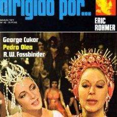 Cine: DIRIGIDO POR... Nº 42 ERIC ROHMER . Lote 23001332