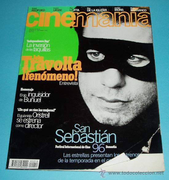 CINEMANIA. Nº 12. 1996. JOHN TRAVOLTA. BUÑUEL. ORISTRELL (Cine - Revistas - Cinemanía)