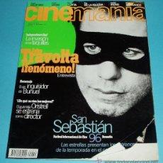 Cine: CINEMANIA. Nº 12. 1996. JOHN TRAVOLTA. BUÑUEL. ORISTRELL. Lote 23027540