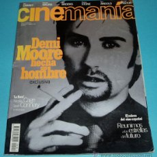 Cine: CINEMANIA. Nº 11. 1996. DEMI MOORE. NICOLAS CAGE. SEAN CONNERY. Lote 26120518
