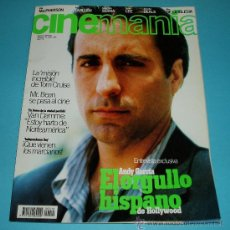 Cine: CINEMANIA. Nº 10. 1996. ANDY GARCIA. TOM CRUISE. MR. BEAN. VAN DAMME. Lote 23027584