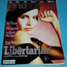 Cine: CINEMANIA. Nº 7. 1996. ANA BELEN. OLIVER STONE. VICENTE ARANDA. Lote 23027654