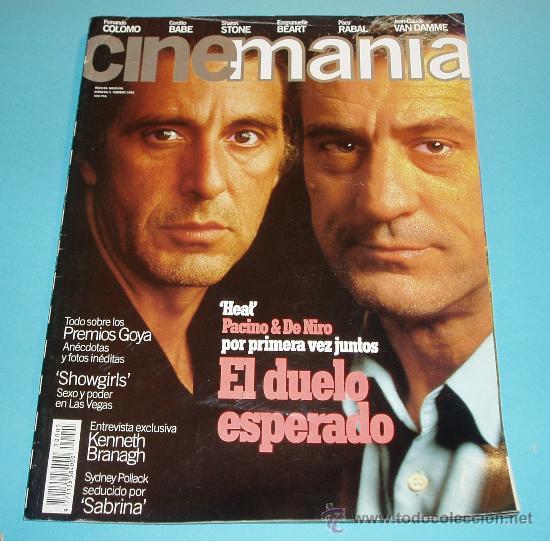 CINEMANIA. Nº 5. 1996. AL PACINO. ROBERT DE NIRO. KENNETH BRANAGH (Cine - Revistas - Cinemanía)