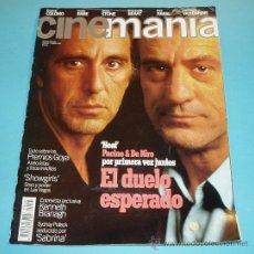 Cine: CINEMANIA. Nº 5. 1996. AL PACINO. ROBERT DE NIRO. KENNETH BRANAGH. Lote 23027675