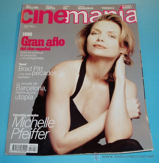 CINEMANIA. Nº 4. 1996. BRAD PITT. MICHELLE PFEIFFER (Cine - Revistas - Cinemanía)