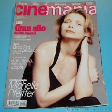 Cine: CINEMANIA. Nº 4. 1996. BRAD PITT. MICHELLE PFEIFFER. Lote 23027688
