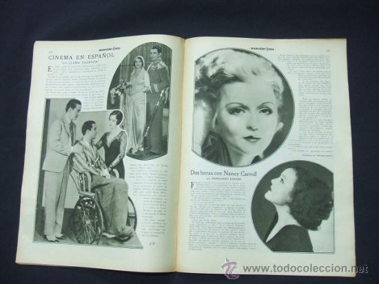 Cine: POPULAR FILM - Nº 273 - 5 NOVIEMBRE 1931 - PORTADA, JANET GAYNOR Y CHARLES FARRELL - Foto 5 - 23173879