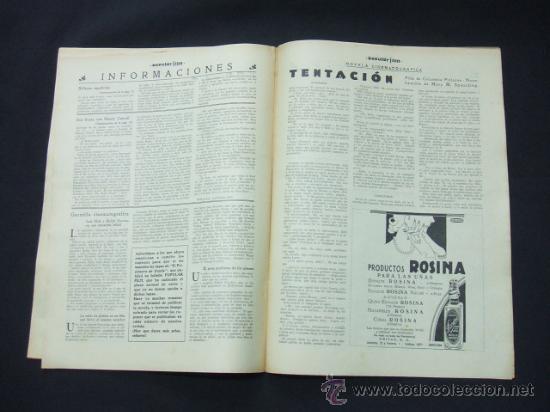 Cine: POPULAR FILM - Nº 273 - 5 NOVIEMBRE 1931 - PORTADA, JANET GAYNOR Y CHARLES FARRELL - Foto 6 - 23173879