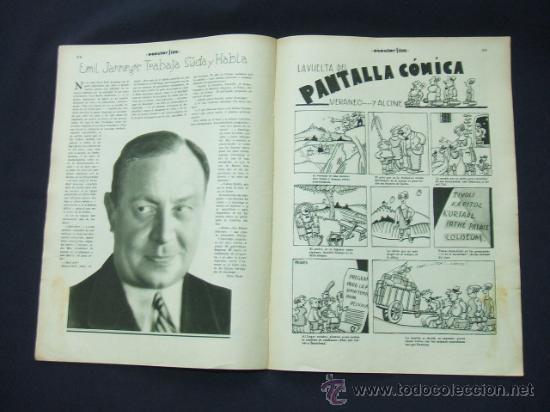 Cine: POPULAR FILM - Nº 222 - 30 OCTUBRE 1930 - PORTADA, NANCY BELFORD - Foto 6 - 23173941