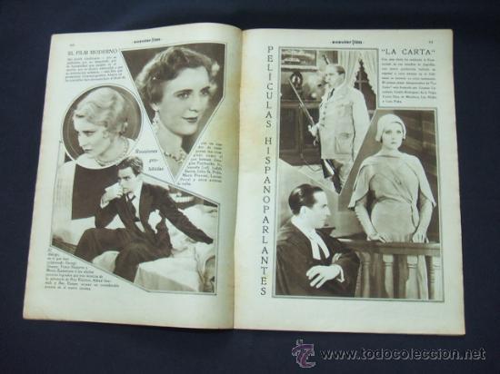 Cine: POPULAR FILM - Nº 233 - 29 ENERO 1931 - PORTADA, BILLIE DOVE - Foto 5 - 23174394