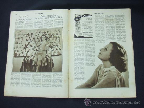 Cine: POPULAR FILM - Nº 233 - 29 ENERO 1931 - PORTADA, BILLIE DOVE - Foto 6 - 23174394